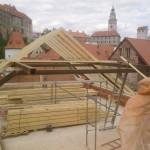 Výroba a montáž krovu Český Krumlov